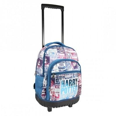 Сумка-рюкзак на колесах HARRY POTTER (50х35х20) Cerda, Синій, Disney Іспанія, 21OZ