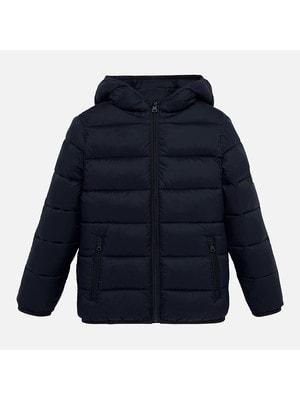 Куртка, з капюшоном + мішечок, Темно-синій, Mayoral Іспанія, 20OZ