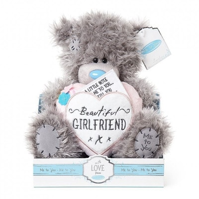 Іграшка М'яка, Ведмедик Тедді  з серцем  Beautiful Girlfriend, 23 см, Me To You Великобританія