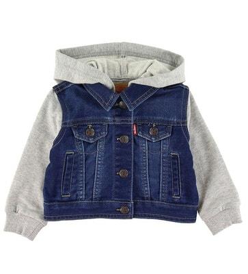 Піджак, джинсовий з капюшоном, Темно-синій, LEVI`S США, 21VL