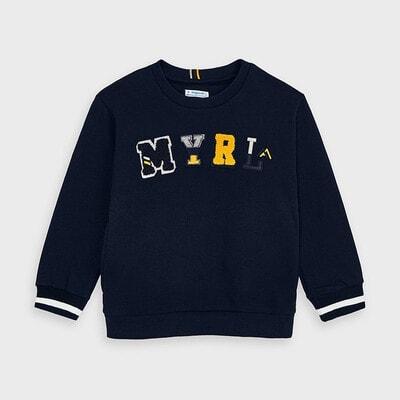 Пуловер, Темно-синій, Mayoral Іспанія, 21OZ