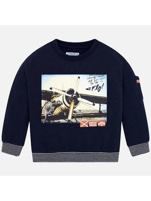 Пуловер, Темно-синій, Mayoral Іспанія, 20OZ