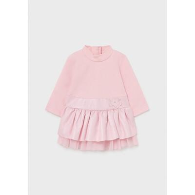Сукня, довгий рукав, Рожевий, Mayoral Іспанія, 22OZ