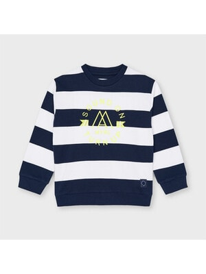 Пуловер, в білу смугу, Темно-синій, Mayoral Іспанія, 21VL