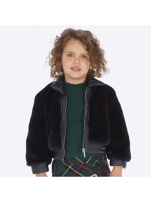 Куртка, (хутро), Темно-синій, Mayoral Іспанія, 20OZ