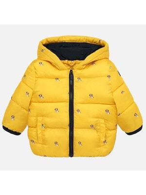Куртка, з капюшоном, Жовтий, Mayoral Іспанія, 20OZ