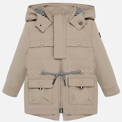 Куртка, з капюшоном, Бежевий, Mayoral Іспанія, 20VL