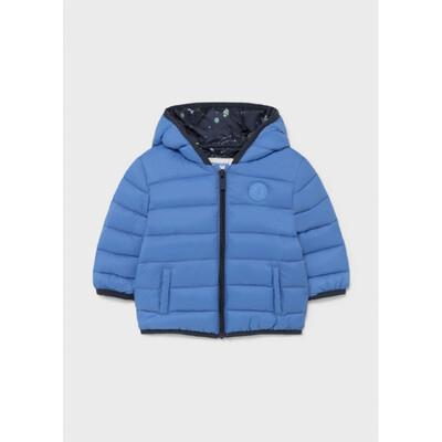 Куртка, з капюшоном, міжсезоння, Синій, Mayoral Іспанія, 22OZ