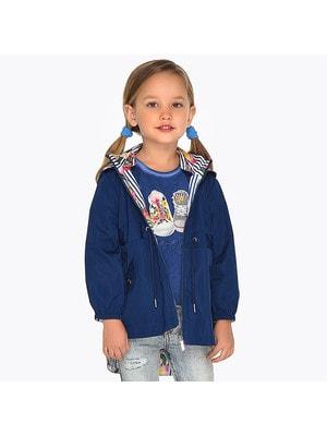 Куртка, Парка двостороння, з капюшоном, Темно-синій, Mayoral Іспанія, 19VL