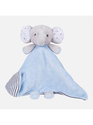 М'яка іграшка слон, Блакитний, Mayoral Іспанія, 19VL