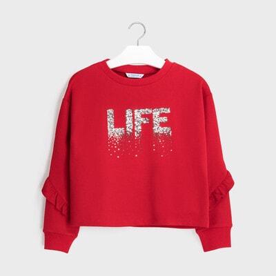 Пуловер, Червоний, Mayoral Іспанія, 21OZ