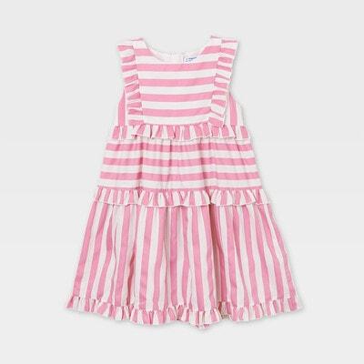 Сукня, в білу смугу, Рожевий, Mayoral Іспанія, 21VL