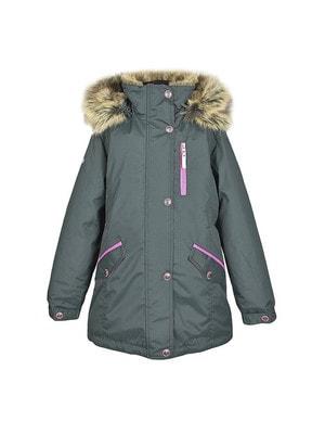 Куртка, Парка (малинова смуга) ANGEL, Зелений, Lenne Естонія, 20OZ