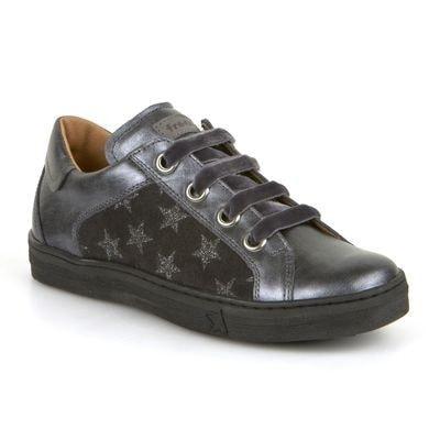 Кросівки, в зірочка, Сірий, Froddo Хорватія, 19OZ