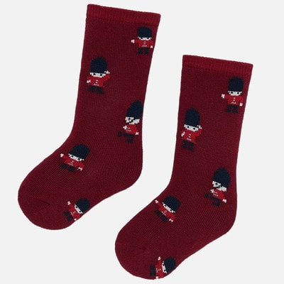 шкарпетки, Бордовий, Mayoral Іспанія, 20OZ
