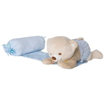 Аксесуари, Підтримуюча подушка з м'якою іграшкою, Блакитний, Mayoral Іспанія, 21OZ