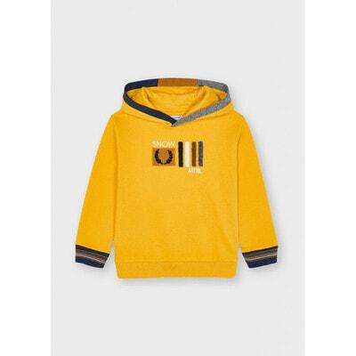 Пуловер, з капюшоном, утеплений, Бурштиновий, Mayoral Іспанія, 22OZ