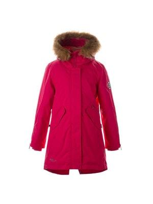 Пальто, з капюшоном VIVIAN, Фуксія, HUPPA Естонія, 21OZ