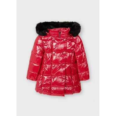 Куртка, з капюшоном, еврозима, Червоний, Mayoral Іспанія, 22OZ