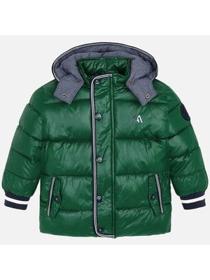 Куртка, з капюшоном, Зелений, Mayoral Іспанія, 20OZ