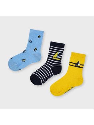 Шкарпетки, 3 пари, Синій, Mayoral Іспанія, 21VL