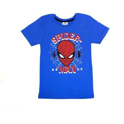 Футболка, сэр. Spider-Man, Синий, Disney Польша, 21OZ