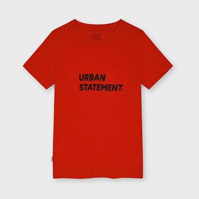 Футболка, URBAN STATEMENT., Красный, Mayoral Испания, 21VL