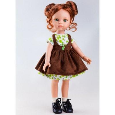 Іграшка Лялька, Крісті в коричневому сарафані 32см, Paola Reina Іспанія