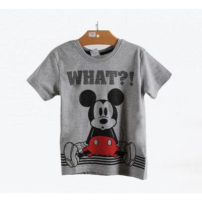 Футболка, сер. Mickey Mouse, Сірий, Disney Польща, 21OZ
