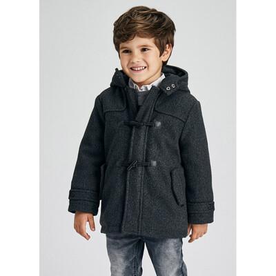 Пальто, з капюшоном, утеплене, Темно-сірий, Mayoral Іспанія, 22OZ
