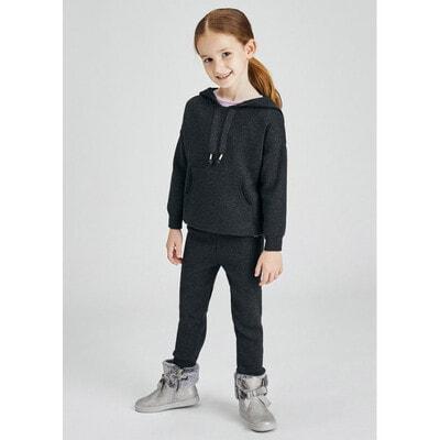 Комплект, Пуловер + штани, Темно-сірий, Mayoral Іспанія, 22OZ