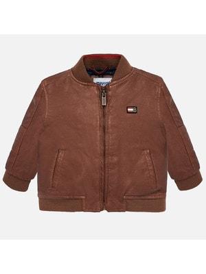 Куртка, Коричневий, Mayoral Іспанія, 20OZ