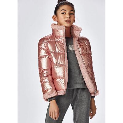 Куртка, двостороння, утеплена, Рожевий, Mayoral Іспанія, 22OZ