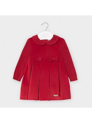 Сукня, довгий рукав, Червоний, Mayoral Іспанія, 21OZ