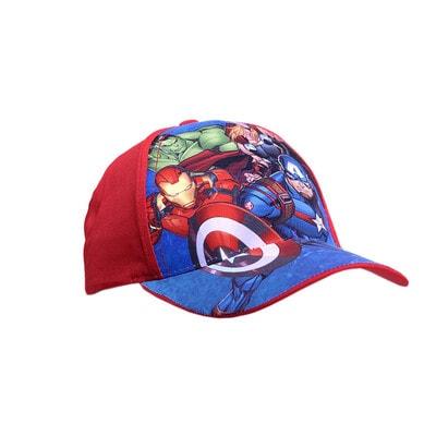 Головной убор кепка, сэр. Avengers, Красный, Disney Польша, 21OZ