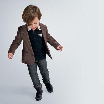 Пиджак, коричневый, Mayoral Испания, 21OZ