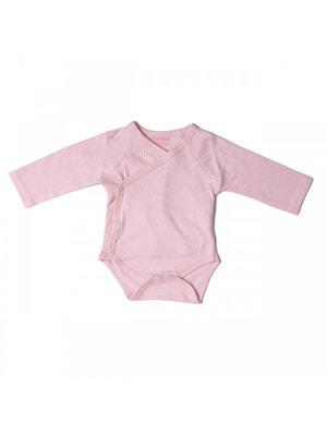 Комплект, Боди длинный рукав 2 шт., Розовый, Babybol Испания, 19VL