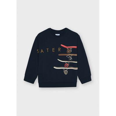 Пуловер, утеплений, Темно-синій, Mayoral Іспанія, 22OZ