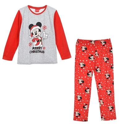 Піжама, серія Disney   MICKEY Джемпер + штани + новорічний чобіток для подарунків, Червоний, Sun City Франція, 21OZ