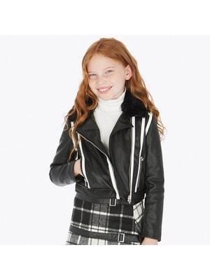 Куртка, білі смуги, Чорний, Mayoral Іспанія, 20OZ