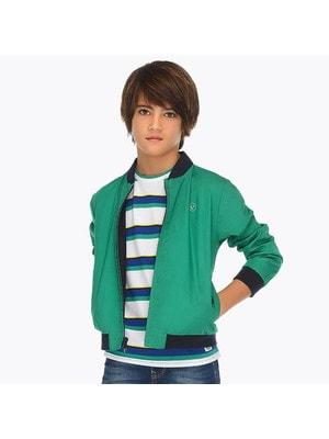 ОДЯГ Хлопчик Верхній Куртка, двостороння, Зелений, Mayoral Іспанія, 19VL