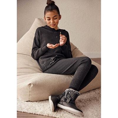 Комплект, Пуловер + штани, з люрексом, Темно-сірий, Mayoral Іспанія, 22OZ