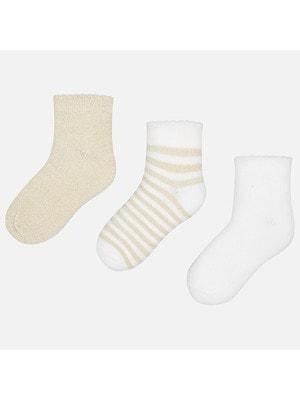 Шкарпетки, 3 пари, Золотий, Mayoral Іспанія, 19VL