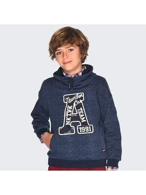 Пуловер, з капюшоном (А 1991), Синій, Mayoral Іспанія, 20OZ