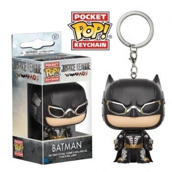 """ІГРАШКА Фігурка, Брелок вініловий Funko  Pocket POP!  """"Justice League"""" Бетмен, FUNKO США"""