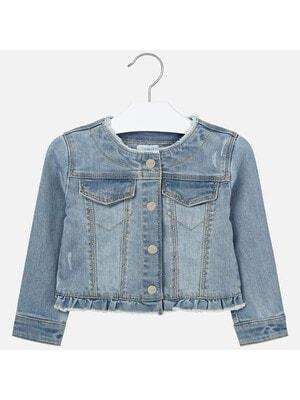 Піджак, джинсовий, світлий, Синій, Mayoral Іспанія, 20VL