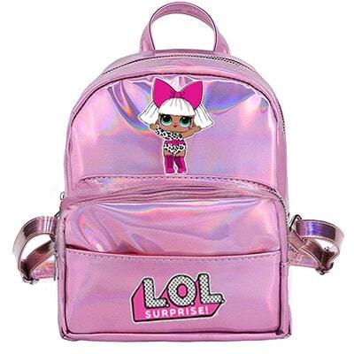 Рюкзак міні з голографічним ефектом L.O.L DOLL, Рожевий, MGA США, 20VL