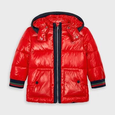 Куртка, з капюшоном, Червоний, Mayoral Іспанія, 21OZ