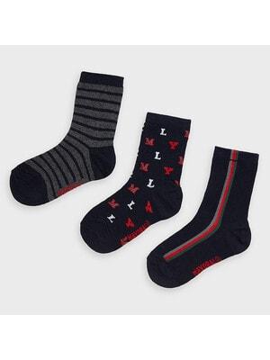 Шкарпетки, 3 пари,, Темно-синій, Mayoral Іспанія, 21OZ
