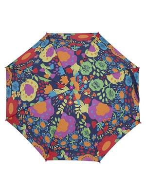 Парасолька  в різнокольорових квітах, Темно-синій, TucTuc Іспанія, 20OZ